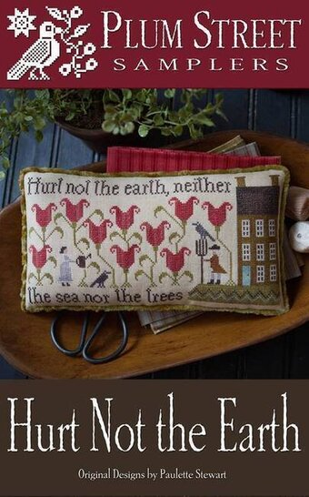 Hurt Not the Earth - Cross Stitch Pattern