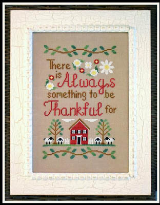 To Be Thankful - Cross Stitch Pattern