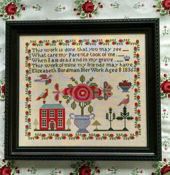 Elizeabeth Bordman - Cross Stitch Pattern