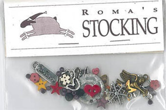 Roma's Stocking - Embellishment Pack