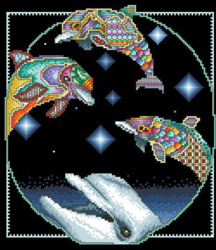 Dolphin Dreams - Cross Stitch Pattern