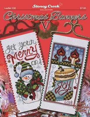 Christmas Banners V - Cross Stitch Pattern