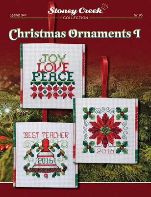 Christmas Ornaments I - Cross Stitch Pattern