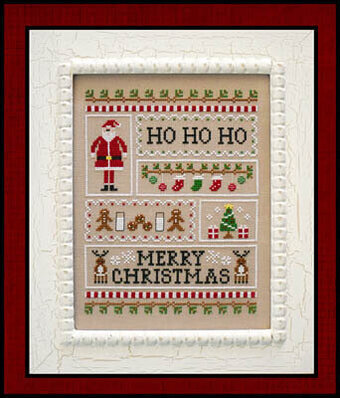 Santa's Sampler - Cross Stitch Pattern