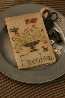 Freedom Needlebook - Cross Stitch Pattern