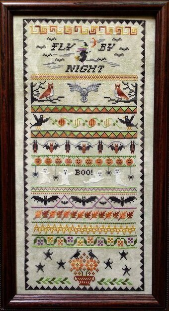 Fly By Night - Cross Stitch Pattern