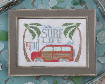Surf Life - To the Beach #10 - Cross Stitch Pattern