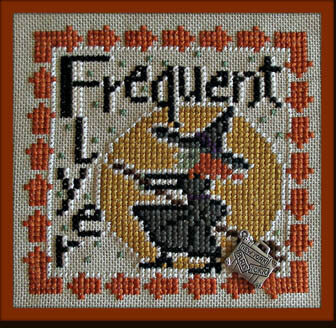 Frequent Flyer (w/charm) - Cross Stitch Pattern