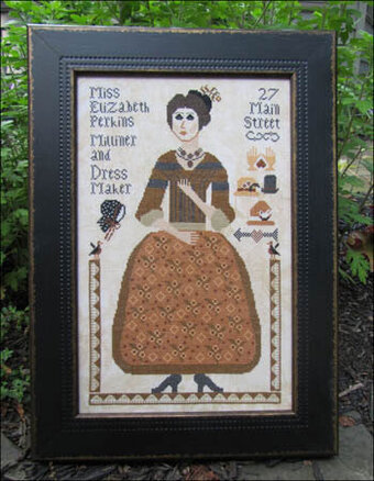 Miss Elizabeth Perkins - Cross Stitch Pattern