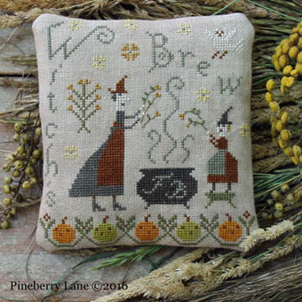 Fancey Blackett Witch's Brew - Cross Stitch Pattern
