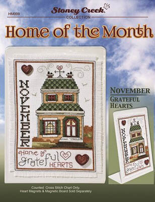Home of the Month - November - Cross Stitch Pattern