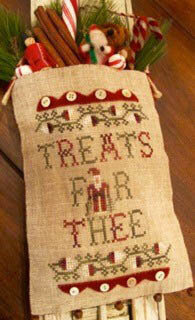 Treats for Thee - Cross Stitch Pattern