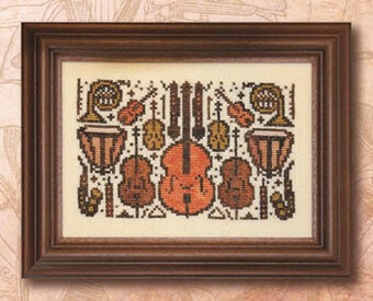 Arranging for Orchestra - Cross Stitch Pattern