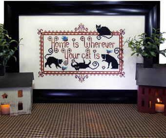 Really Friendly Cats - Cross Stitch Pattern