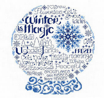Let's Be Frozen - Cross Stitch Pattern
