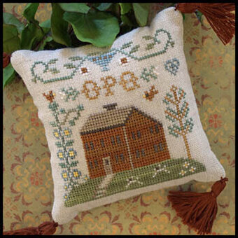 ABC Samplers No 6 - OPQ - Cross Stitch Pattern
