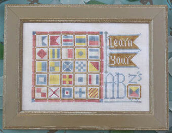 To the Beach #11 - Learn Your ABZ's - Cross Stitch Pattern
