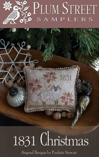 1831 Christmas - Cross Stitch Pattern