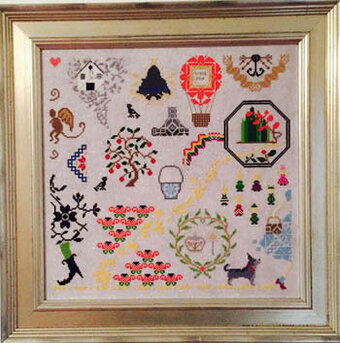 Oz - Cross Stitch Pattern