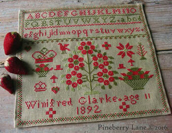 Winifred Glarke 1892 - Cross Stitch Pattern
