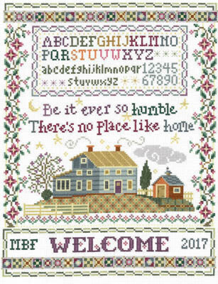 Humble Home Sampler - Cross Stitch Pattern