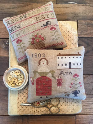 Ann's Sampler Pinkeeps - Cross Stitch Pattern