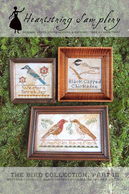 Bird Collection, The - Part III - Cross Stitch Pattern
