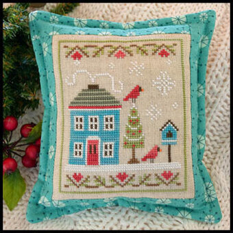 Snow Place Like Home 4 - Cross Stitch Pattern