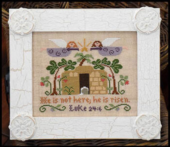 He is Risen - Cross Stitch Pattern