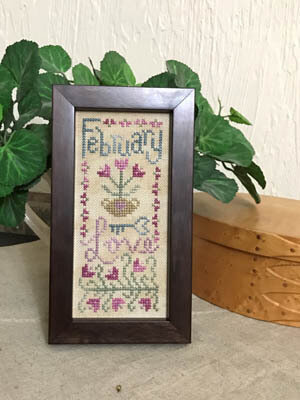 February Mini Sampler - Cross Stitch Pattern