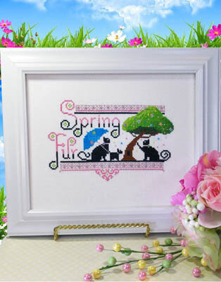 Spring Fur - Cross Stitch Pattern