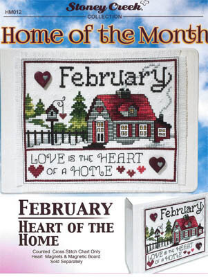 Home of the Month February - Cross Stitch Pattern