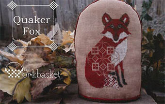 Quaker Fox - Cross Stitch Pattern