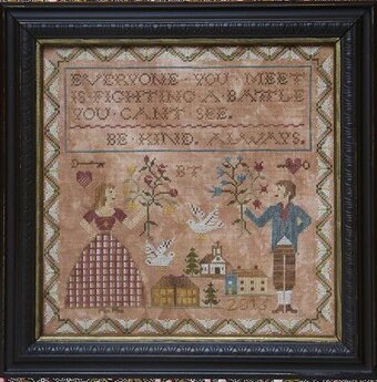 Be Kind Always - Cross Stitch Pattern
