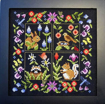 Small Animal Sampler - Cross Stitch Pattern