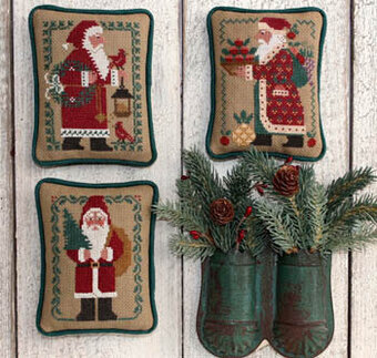 Santas Revisited II - Cross Stitch Pattern