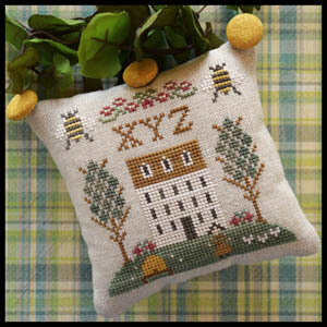 ABC Sampler No 9 - XYZ - Cross Stitch Pattern