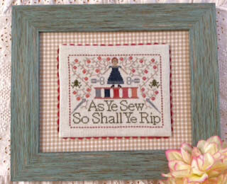 Frog Motto, The - Cross Stitch Pattern