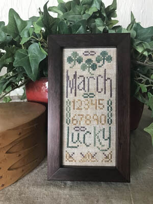March Mini Sampler - Cross Stitch Pattern