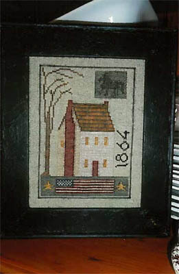 1864 House Sampler - Cross Stitch Pattern