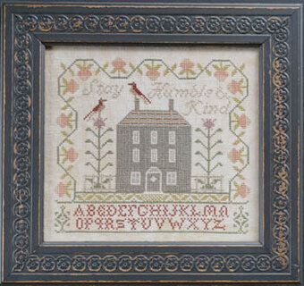 HUMBLE /& KIND SAMPLER-CROSS STITCH CHART-COUNTRY STITCHES BE HAPPY