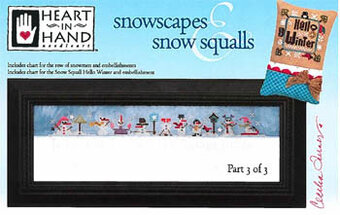 Snowscapes & Snow Squalls Part 3 - Cross Stitch Pattern