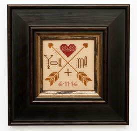 You + Me - Cross Stitch Pattern
