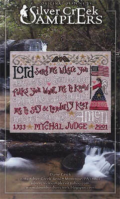 Mychal's Prayer - Cross Stitch Pattern