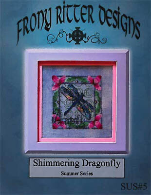 Shimmering Dragonfly - Cross Stitch Pattern