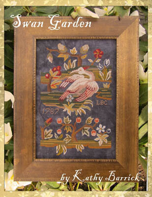 Swan Garden - Cross Stitch Pattern