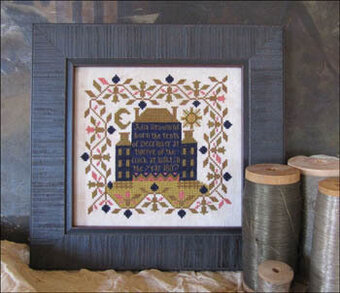Twelve of the Clock - Cross Stitch Pattern