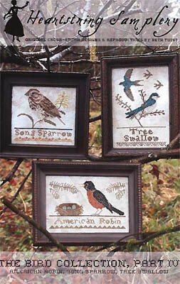 Bird Collection Part IV - Cross Stitch Pattern