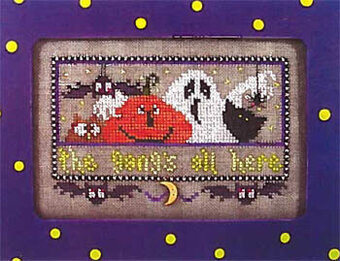 Gang's all Here - Cross Stitch Pattern