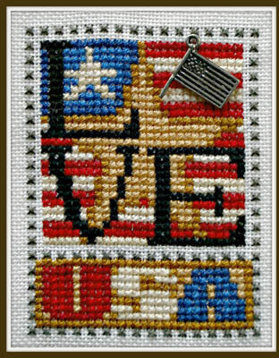 Love USA - Cross Stitch Pattern